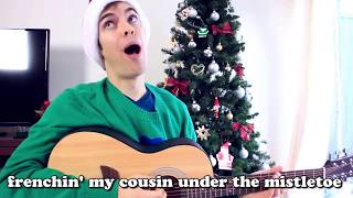 I Was Caught Frenching My Cousin Under The Mistletoe (1 Hour) Jackfilms Royalty Free Christmas Songs thumbnail