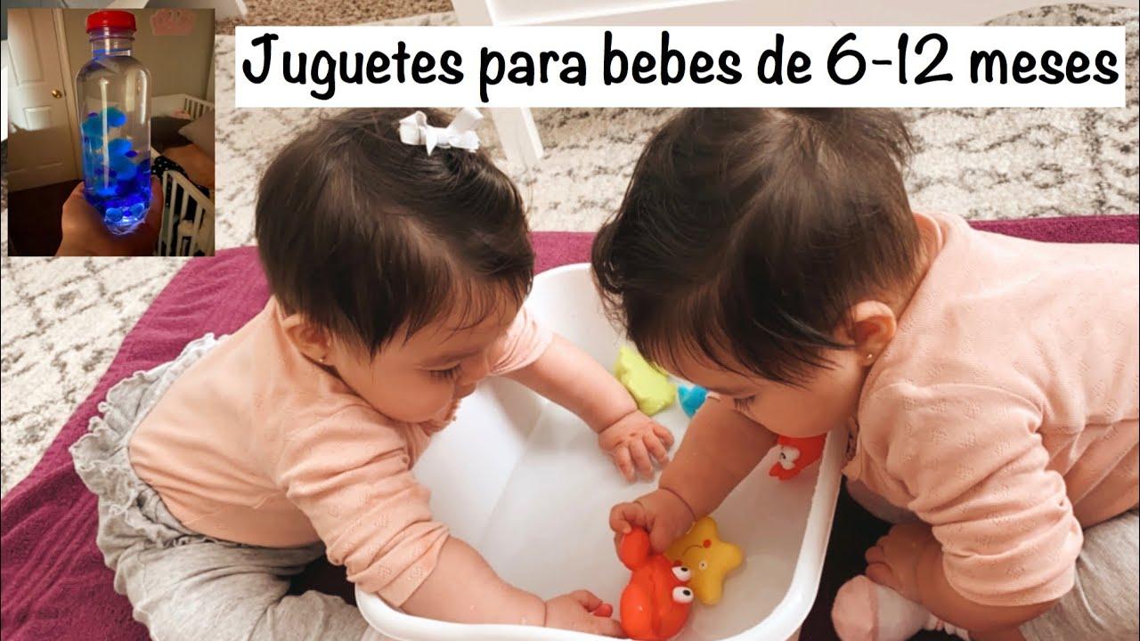 Actividades Para Bebes De 6 12 Meses Estimulación Temprana Del Bebé Montessori Youtube