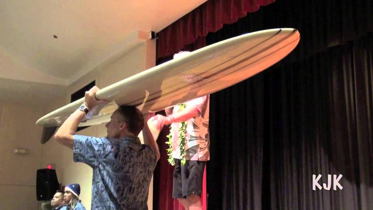 The Reynolds Yater Surfboard Set At Auction Youtube