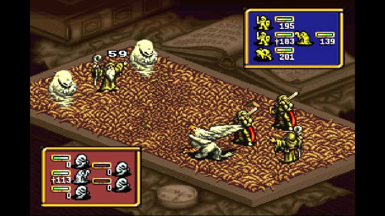 Ogre Battle - The March of the Black Queen - Antalia(SNES) - Vizzed com  GamePlay