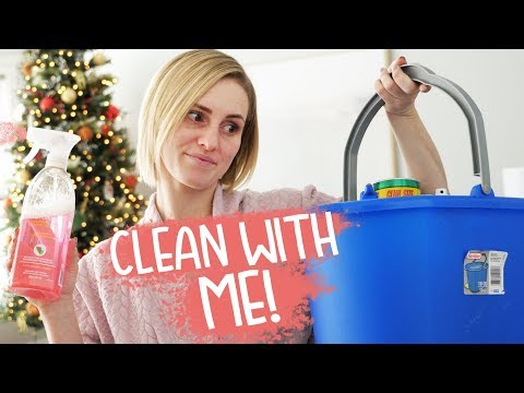 2019 Morning Routine! CLEAN WITH ME! | Ellie And Jared