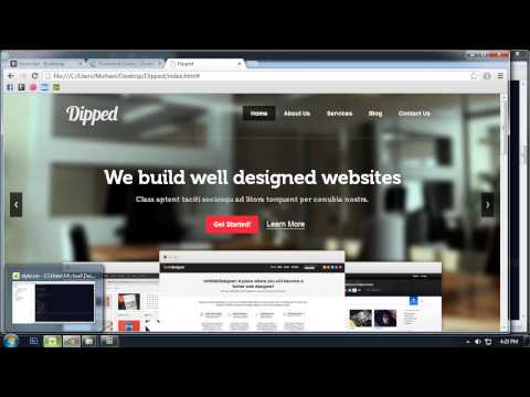 Twitter Bootstrap Tutorial: Make Website Design Responsive And Mobile Friendly [Part 6]