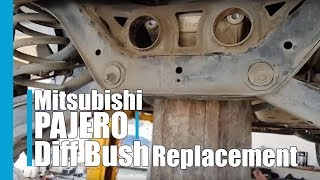 Mitsibushi Pajero Diff Bush replacement EASY