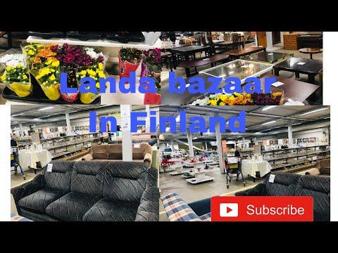 Landa Bazaar In Finland || Second Hand Shop || Vlog