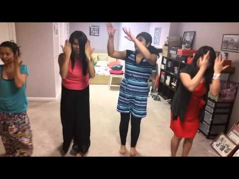 Bihu dance practice in Michigan,USA