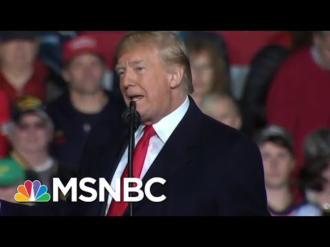 How President Donald Trump Misleads About The GOP And Healthcare | Velshi & Ruhle | MSNBC
