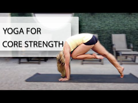 Yoga for Core Strength in 10 Minutes with Kino
