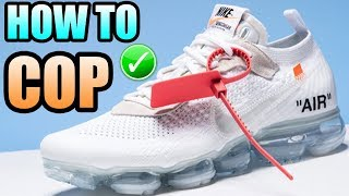 How To Get The WHITE OFF WHITE VAPORMAX ! | Nike X Off White Vapormax Release Info !