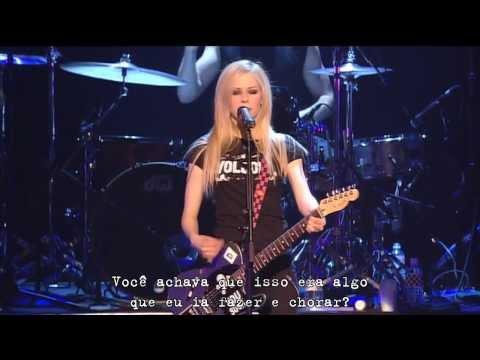 Avril Lavigne - Don't Tell Me [Live at Budokan] [Japan] 2005 #Legendado #Português #HD