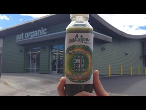 Raw Juice Review Evolution Fresh Organic Greens