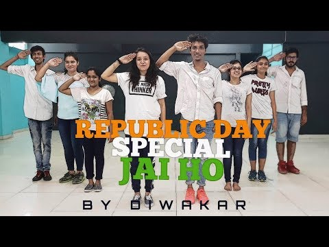 Jai Ho | Slumdog Millionaire | Republic Day Special | Diwakar's Gotta Dance Studio