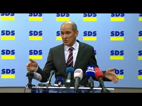 09.01.2018 Janez Janša o ustavni obtožbi premiera, arbitraži in o domenvno spornem posojilu SDS-a