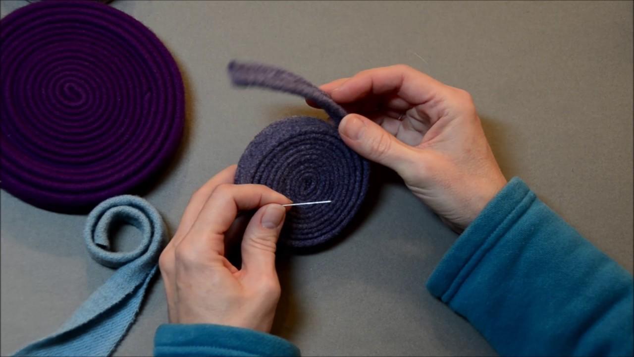 Beginning Rug Braiding: Pre Folding Tip