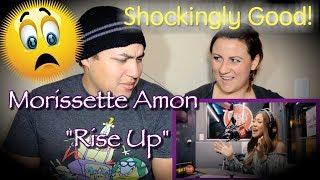 """MORISSETTE AMON - """"Rise Up"""" (COUPLES REACTION)"""