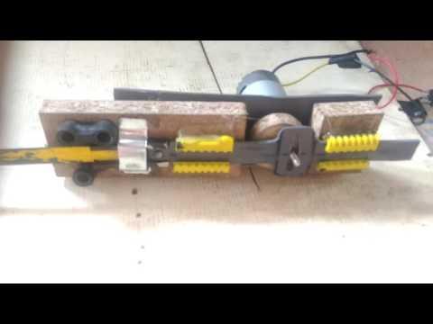 DIY..electric saws... cara membuat gegaji mini