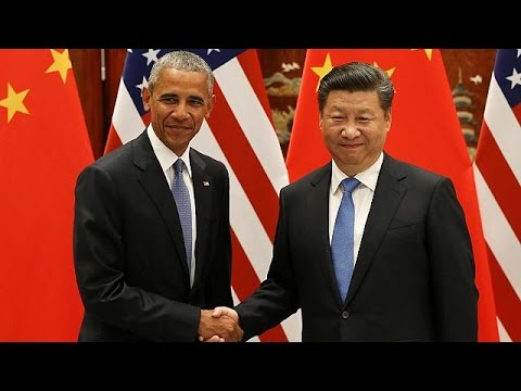 China and US ratify Paris climate change deal