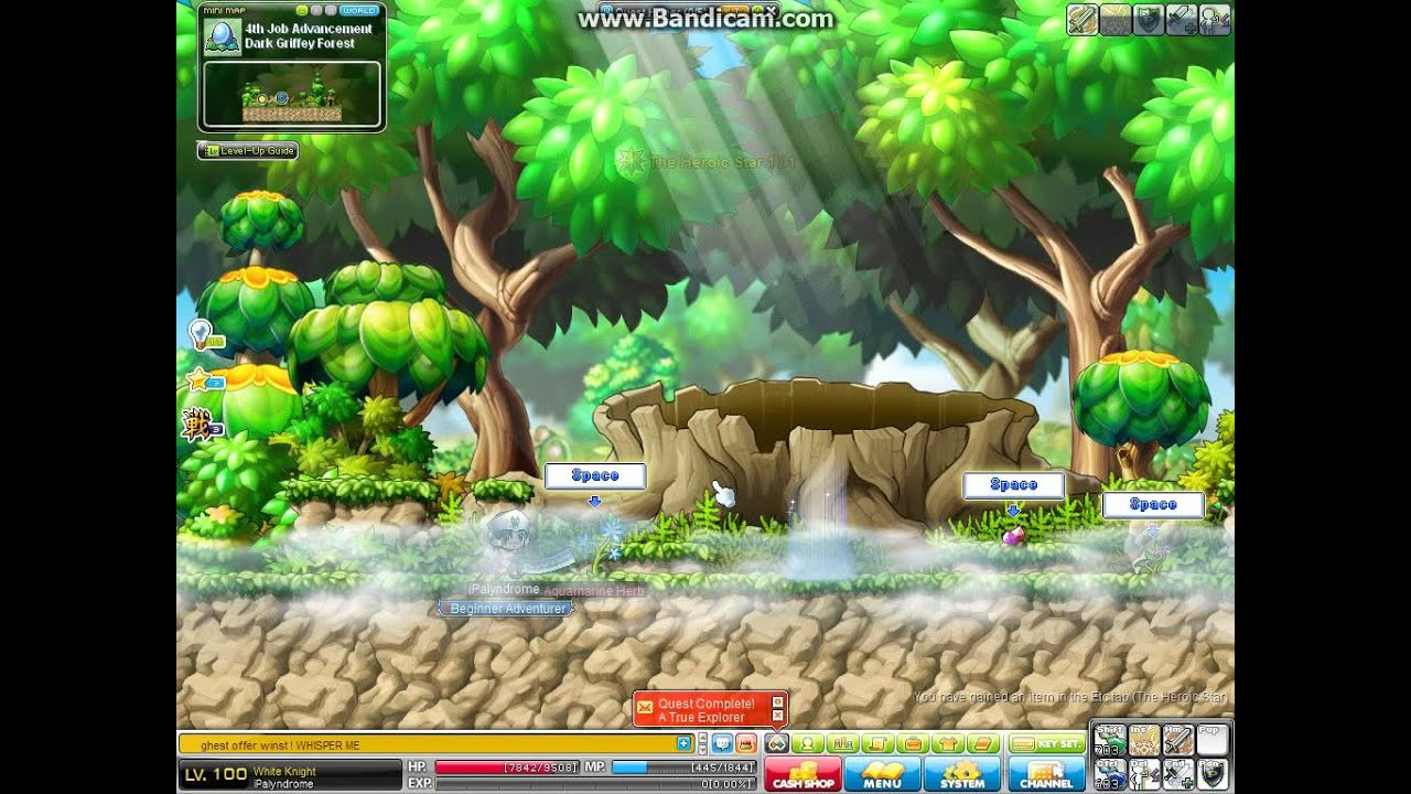 The pinnacle of strength maplestory quest prizes