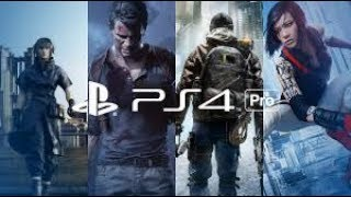 BEST PS4 : Pro Games Console Trailer 2017