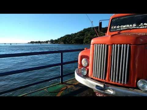 Travessia Ferry boat Guaratuba PR.