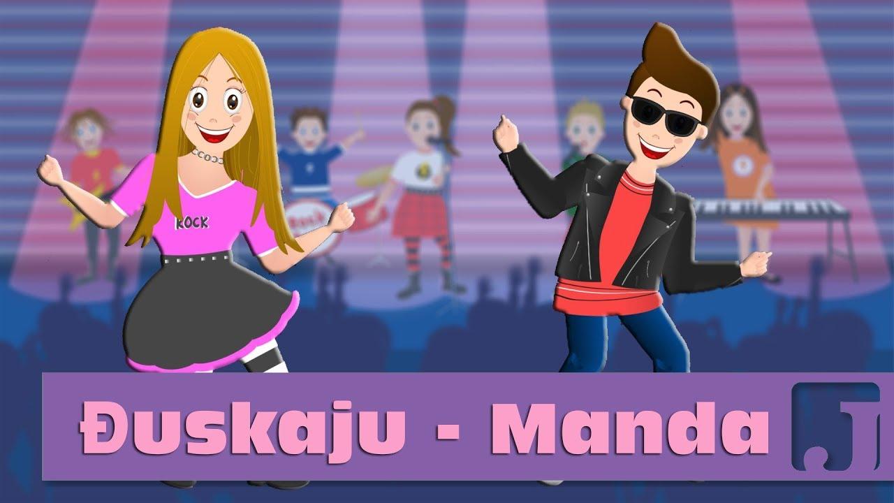 Download Đuskaju - Manda | Dečije pesme | Pesme za decu | Jaccoled C