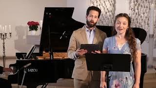 """Mozart: """"Laudate dominum"""" - Madison Leonard - Soprano, Shea Owens - Baritone Claire Pasquier - Piano"""