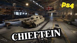 WoT PS4 Chieftein - Вождь  D1 [18+]