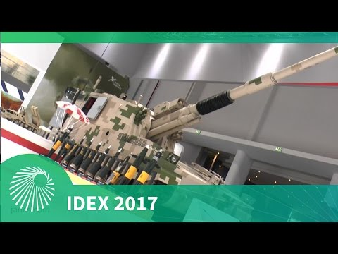 IDEX 2017: PLZ52 - Chinese mobile howitzer