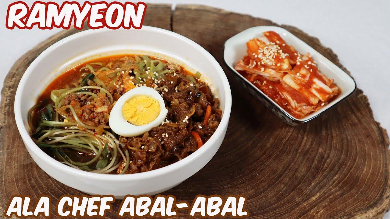 RAMYEON ALA CHEF ABAL-ABAL | 라면 | RAMEN KOREA