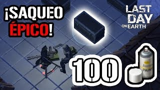 ¡¡SAQUEO 100 PINTURAS BLANCAS!! | LAST DAY ON EARTH: SURVIVAL