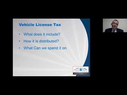 Webinar: State Shared Revenue