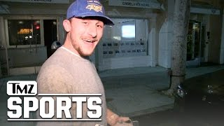 Johnny Manziel Says Browns Ain't Bringin' Me Back | TMZ Sports