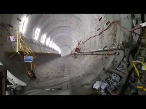 Tunnel Work at Doha Metro Red Line South U/G Doha Qatar