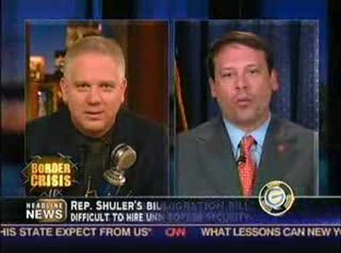 Heath Shuler on Glenn Beck