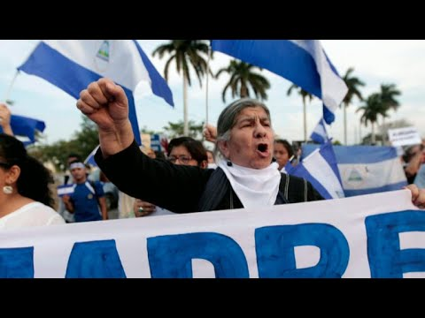 Mothers protest bloody crackdown on protesters in Nicaragua