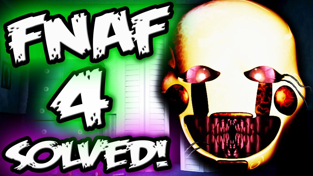 Fnaf 4 Puppet Secret Puppet S Hidden Text Five