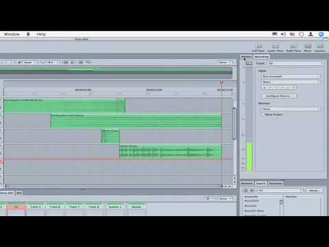 Soundtrack Pro Quicktips: Recording Audio