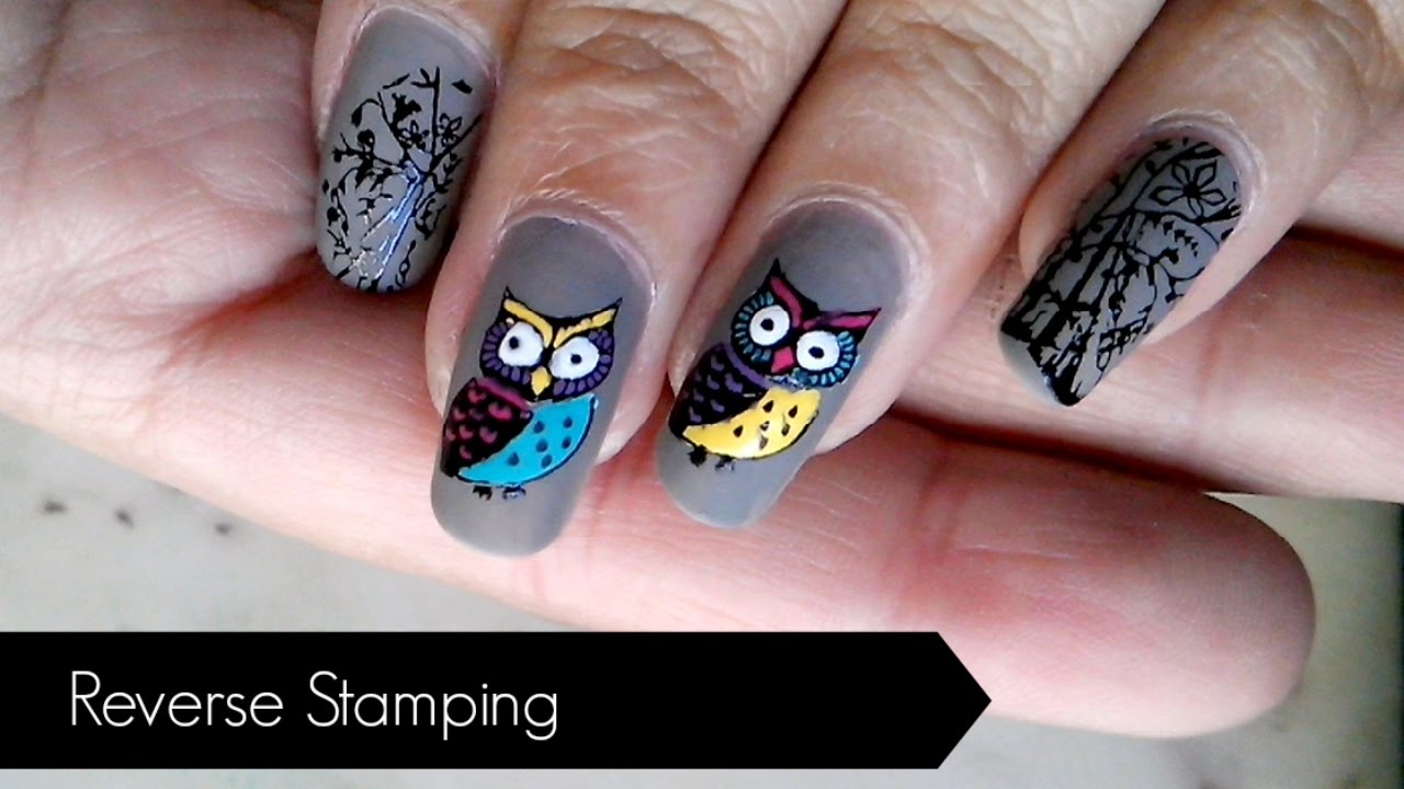 How To Do Reverse Stamping | Step By Step Guide - YouTube