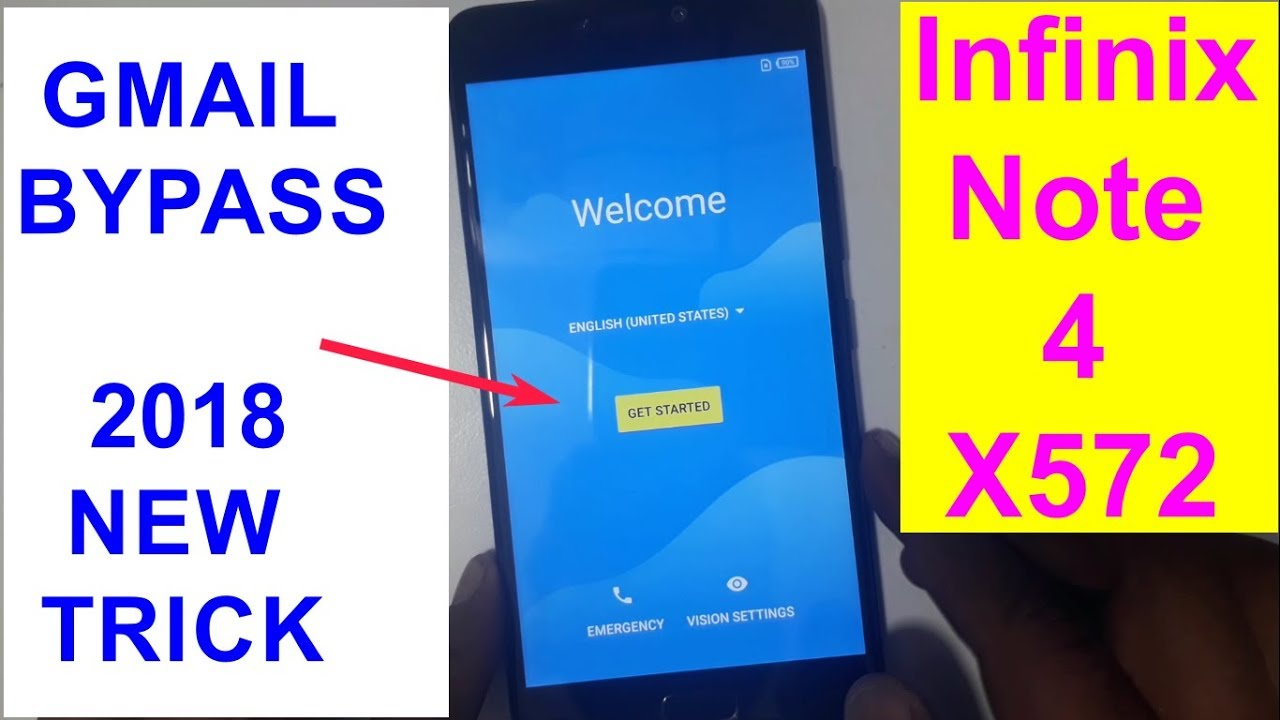 Remove FRP Lock From Infinix Note 4 X572 Using Sp Flash Tool