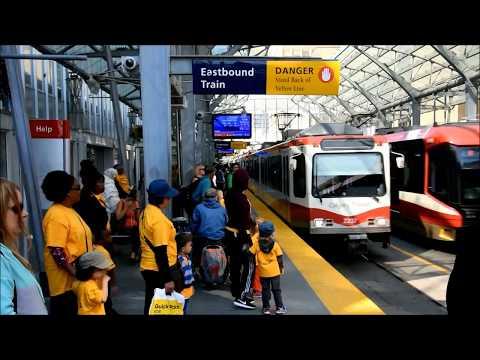 Calgary's LRT: City Hall Station