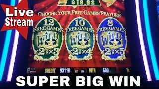 ★BIG&SUPER BIG WIN★ at Ultimate Fire,Buffalo Deluxe,Dancing Drums,Gold Bonanza,Walking Dead Slots