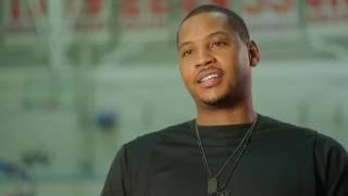 Carmelo Anthony and the Hospital for Special Surgery