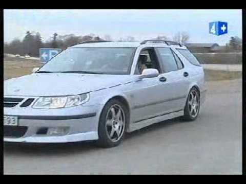 Volvo v70R Vs Saab 9-5 Hirsch.avi - YouTube