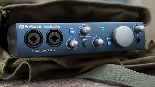 PreSonus Audiobox iTwo Studio/USB/iPad hardware/software recording kit REIVEW and HAND ON
