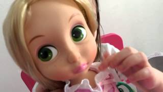 Кукла Рапунцель Дисней (Rapunzel Walt Disney). Обзор куклы и распаковка
