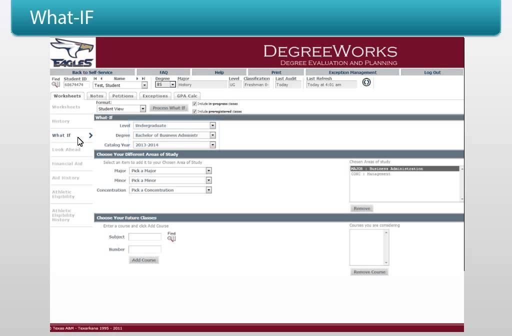 DegreeWorks Staff Training