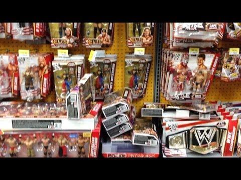 Wwe Action Insider Wrecking A Loaded Walmart Wrestling Figure Aisle