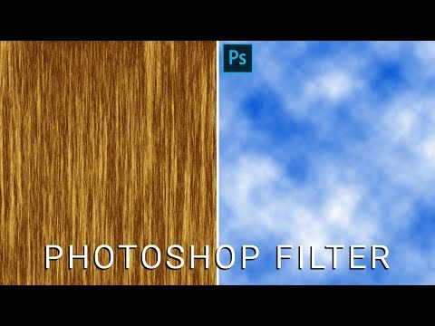 Photoshop Filter | How To Create Cloud And Plywood Effect In Photoshop In Hindi