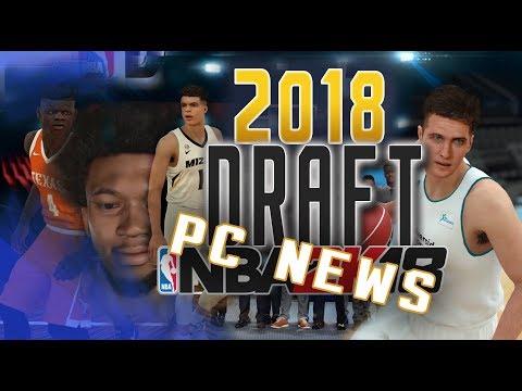 2018 Draft Classes coming to PC! Previews - NBA 2K18 at
