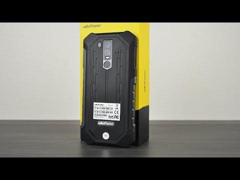 Ulefone Armor 6 - топовый защищённый смартфон с мощным железом!