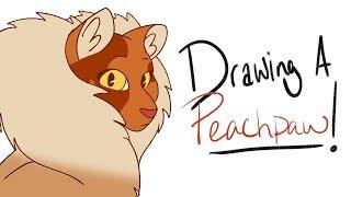 ''Dibujo de un ____!'' Peachpaw (Animación)